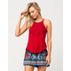 FULL TILT Embroidered Goddess Womens Tank