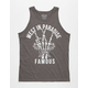 FAMOUS STARS & STRAPS West In Paradise Mens Tank