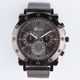 Gunmetal Mesh Band Watch