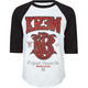 KR3W Champion Mens Baseball Tee