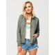 FULL TILT Collared Twill Womens Anorak Jacket