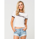 FULL TILT Hawaii Womens Ringer Tee