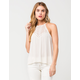 LOVE FIRE Crochet Lace Womens Tank