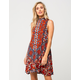 ANGIE Scarf Medallion Dress