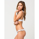 ROXY Sandy Tile Ruffle Mini Bikini Bottoms