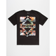 ASPHALT YACHT CLUB Diamond Bars Lock Up Boys T-Shirt