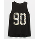 FULL TILT 90 Daisy Girls Tank