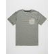 HIPPYTREE Dune Mens Pocket Tee