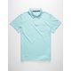 BLUE CROWN Mens Polo Shirt