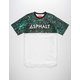 ASPHALT YACHT CLUB Slate Scallop Mens T-Shirt