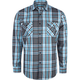 BLUE CROWN Check It All Out Mens Shirt