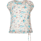FULL TILT Floral Lace Girls Cinch Bottom Top