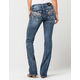 MISS ME Wing Span Womens Bootcut Jeans