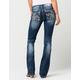 MISS ME Fleur De Lis Womens Bootcut Jeans