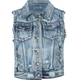 LOST Wallace Womens Denim Vest