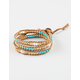 LOTUS AND LUNA Girl Trouble Triple Wrap Bracelet