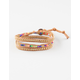 LOTUS AND LUNA Rainbow Dreams Triple Wrap Bracelet