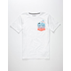 HURLEY Play Boys Pocket Tee