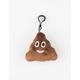 Plush Emoji Poop Keychain Bag Charm