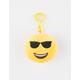 Plush Emoji Sunnies Keychain Bag Charm