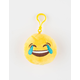 Plush Emoji Tears Of Joy Keychain Bag Charm