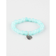 FULL TILT Smiley Beaded Bracelet