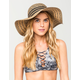 Mixed Pattern Floppy Hat