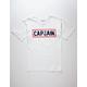 CAPTAIN FIN Naval Captain Mens T-Shirt