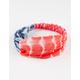 FULL TILT Americana Tie Dye Headwrap