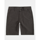 NITROUS BLACK Ace Boys Hybrid Shorts