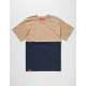 LA FAMILIA Two Tone Mens T-Shirt