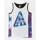 ASPHALT YACHT CLUB Galaxy Print Boys Tank