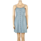 LOTTIE & HOLLY Chambray Corset Dress
