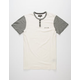 KR3W Daze Mens Henley Shirt