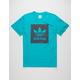ADIDAS Blackbird Logo Fill Mens T-Shirt