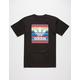 ADIDAS Blackbird Serape Mens T-Shirt