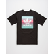 ADIDAS Blackbird Gradient Mens T-Shirt