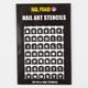 Alphabet Nail Stencils