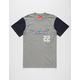 ASPHALT YACHT CLUB Color Block Mens T-Shirt