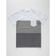 BLUE CROWN Timber Colorblock Boys Pocket Tee