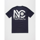 ASPHALT YACHT CLUB New Yorker Mens T-Shirt