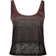 FULL TILT Lace 2fer Womens Tank
