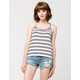 FULL TILT Retro Stripe Womens Tank