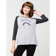 THE NORTH FACE Adventure Awaits Womens Raglan Tee