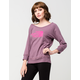 THE NORTH FACE Jersey Boat Neck Womens Sweatshirt