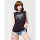 VANS Palm Brush Womens Muscle Tee