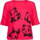 FULL TILT Panda Girls Cinch Bottom Tee