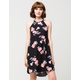 MIMI CHICA High Neck Floral Dress