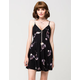 SOCIALITE Splattered Floral Dress