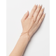 Dainty Double Bracelet Hand Harness
